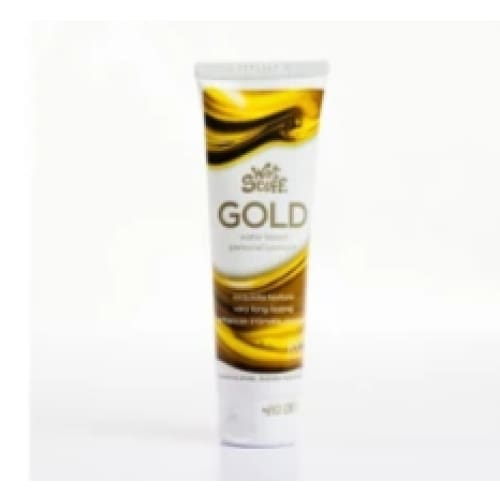 Wet Stuff Gold Water Based Lubricant 100g - Top Drawer Essentials