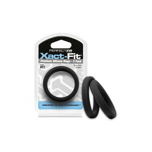 Xact-Fit Cockring 2-Pack in various Sizes - Top Drawer Essentials