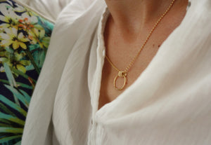 collier plaqué or goldfilled gold filled bohème chic romantique