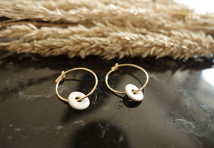 boucles d'oreille céramique made in France