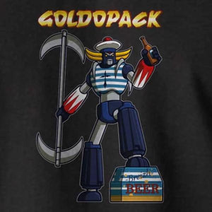 T-shirt breton humoristique Goldopack - Adultes