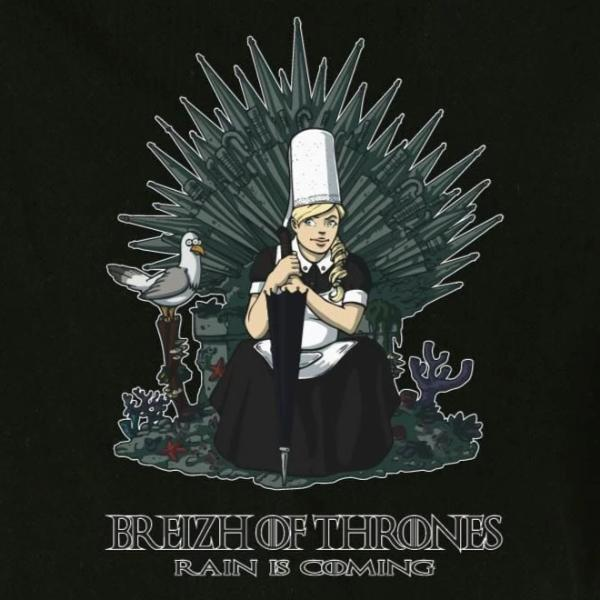 T-shirt breton humoristique Breizh of Thrones - Adultes/Enfants