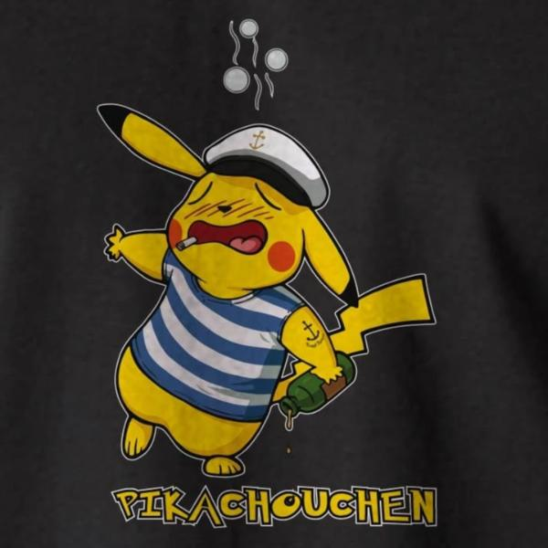 Sweat / Pull Breton Humoristique Pikachouchen - Adultes/Enfants