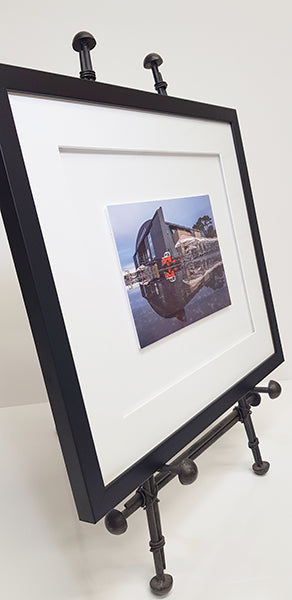 *Covid 19 Special* Framed 6 x 8 inch Floating Print