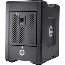 Load image into Gallery viewer, G-Technology G-SPEED Shuttle 24TB 4-Bay Thunderbolt 3 RAID Array with Two ev Bay Adapters (2 x 12TB) MFR # 0G10072