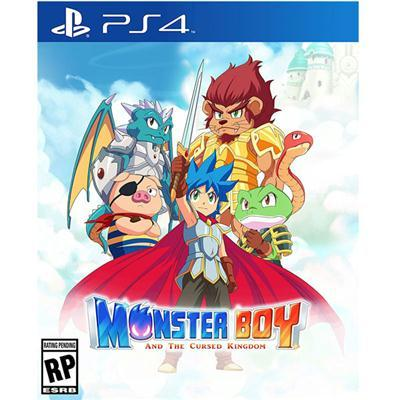 Monster Boy Cursed Kingdom Ps4
