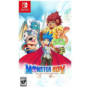 Monster Boy Cursed Kingdom Nsw