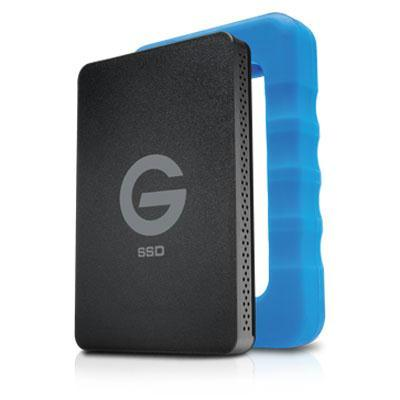 G-Technology 1TB G-DRIVE ev RaW USB 3.0 SSD with Rugged Bumper MFR # 0G04759