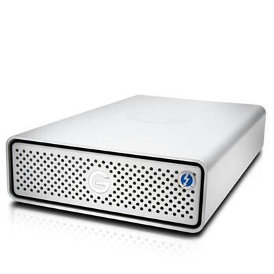 G-Technology 6TB G-DRIVE Thunderbolt 3 External Hard Drive 0G05368