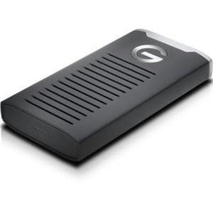 G-Technology 2TB G-DRIVE R-Series USB 3.1 Type-C mobile SSD 0G06054