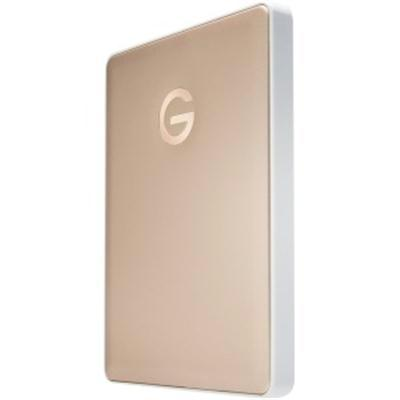 G-Technology 2TB G-DRIVE mobile USB 3.1 Gen 1 Type-C External Hard Drive (Gold) 0G10340