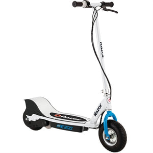 E300 Electric Scooter Wht Blue