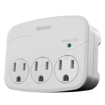 WW USB Charger Surge 3 Outlet