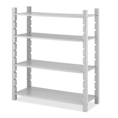 4Tier Utility Shelving Gray