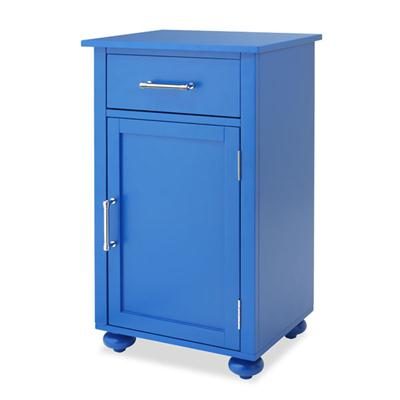 Sngl Door Storage Cabnt Blue