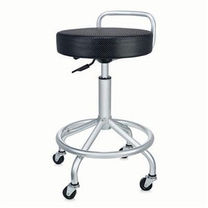 Cushioned Pneumatic Work Stool