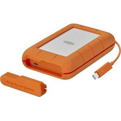 LaCie 1TB Rugged Thunderbolt External SSD with USB Type-C Port MFR # STFS1000401