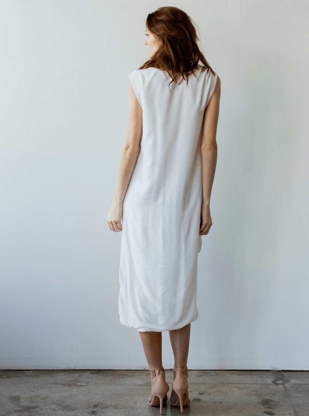 Bowery Dress - White Shop Carol Hannah