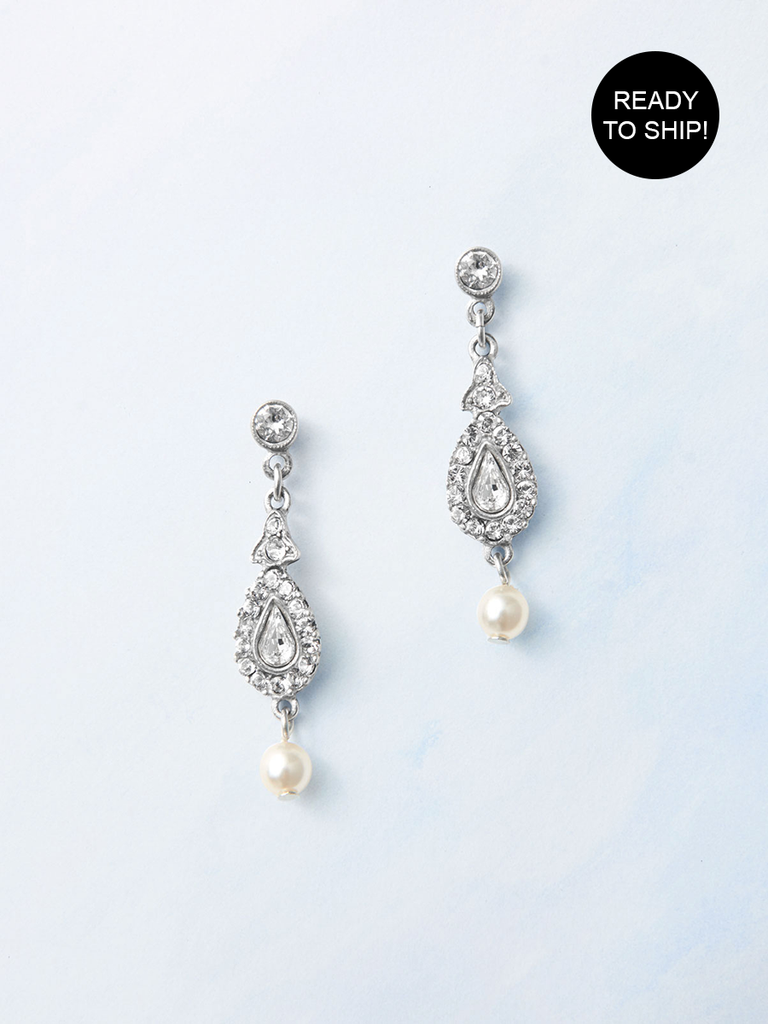 Pearl Drop Earrings - Ready to ship