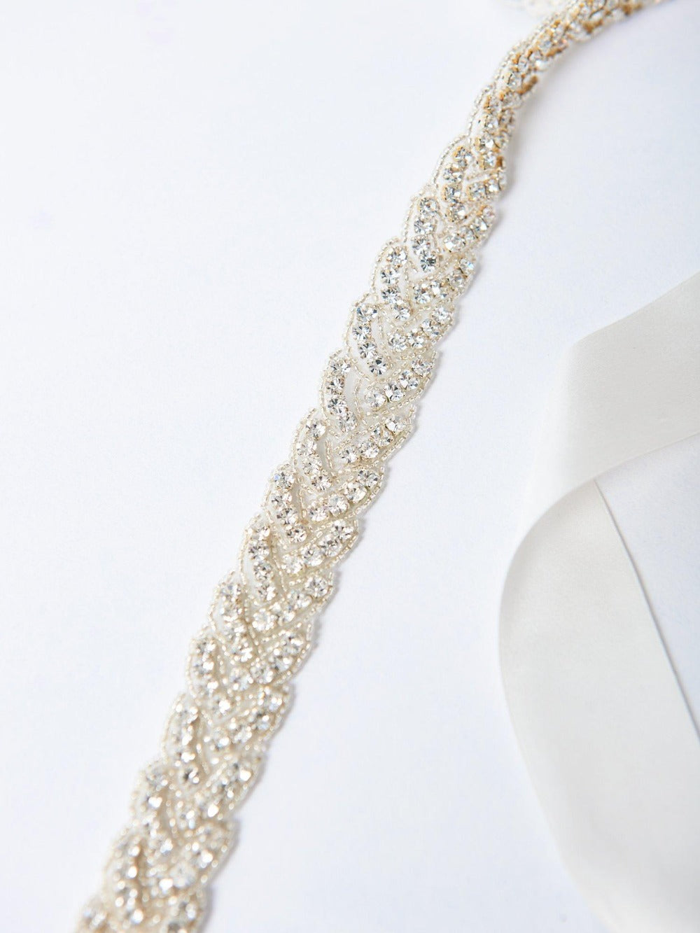 Braided Sparkle Sash Shop Carol Hannah