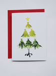 #MidnightDoodles Christmas Mannequin Tree Cards