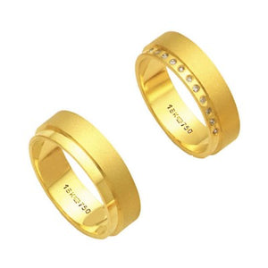 Alliance-Gold-18k-750-Width-6.00mm-Height-1.70mm-/-Alliance-Anatomic-18k-Gold-750-with-11-Brilliant-1.25-Points-Width-6.00mm-Height-1.70mm