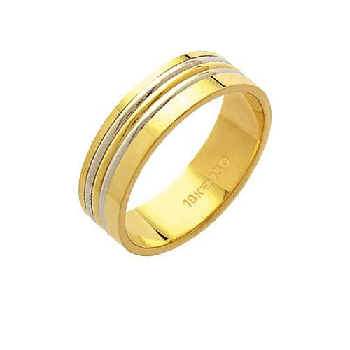 Alliance-Gold-18k-750-with-two-fillets-in-a-White-Gold-and-Red-Gold-Fillet-Width-6.00mm-Height-1.20mm