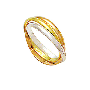 Interlaced-Alliance-Gold,-Red-and-Gold-18k-White-Gold-750-Width-2.30mm-Height-0.70mm