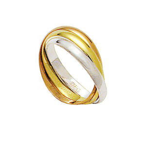 Interlaced-Alliance-Gold,-Red-and-Gold-18k-White-Gold-750-Width-2.80mm-Height-0.80mm