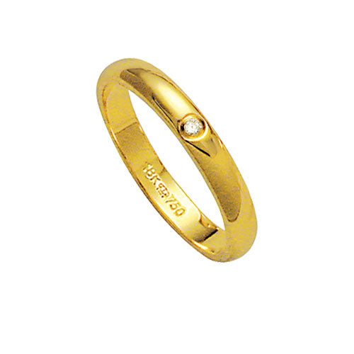 Alliance-18k-Gold-750-with-1-Brilliant-2.25-Points-Width-3.20mm-Height-1.50mm
