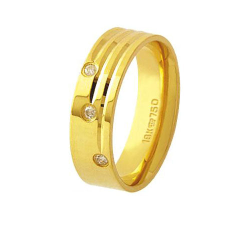 Alliance-Anatomic-18k-Gold-750-with-3-Brilliant-2.25-Points-Width-6.00mm-Height-1.50mm