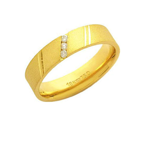 Alliance-Anatomic-18k-Gold-750-with-3-Brilliant-2.25-Points-Width-5.00mm-Height-1.50mm