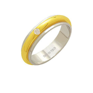 Alliance-Gold-and-18k-White-Gold-750-with-a-brilliant-of-6.00-Points-Width-5.00mm-Height-2.00mm