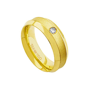 Alliance-Anatomic-18k-Gold-750-with-1-Brilliant-11.00-Points-Width-7.30mm-Height-2.50mm