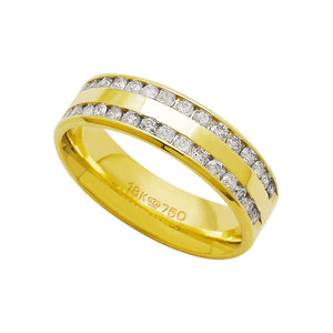 Alliance-Anatomic-18k-Gold-750-with-30-brilliant-2.25-Points-Width-5.00mm-Height-1.50mm