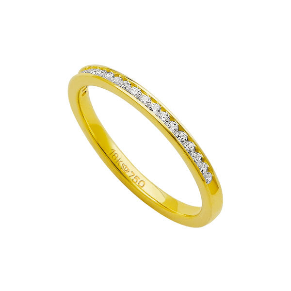 Alliance-Anatomic-18k-Gold-750-with-15-brilliant-2.25-Points-Width-2.00mm-Height-1.70mm