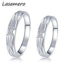 Treasure Jewelry® Men & Women Diamond Couple Rings 18k White Gold Engagement Wedding