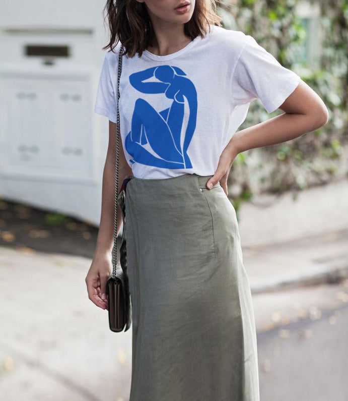 Blue Nude II T-shirt