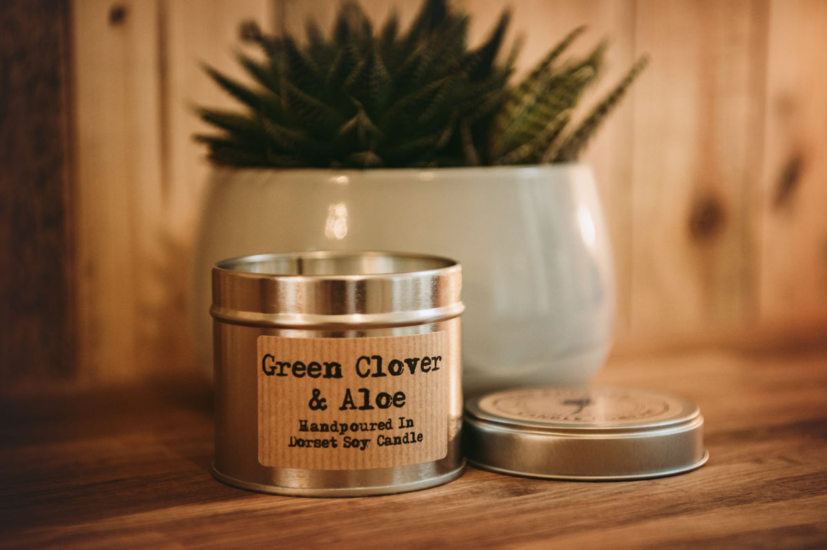 Soy Candle in  copper or silver Tin, Vegan, Cruelty free product. All the labels are vegan friendly. Long lasting candle made in our countryside kitchen in Dorset. Made in small batches and fully CLP compliant. Candles weight is approximately 200g