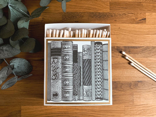Luxury Large Boxed Matches Books Design