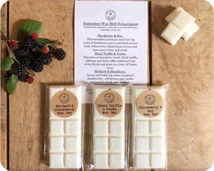 Wax Melt Box 3 Month Subscription FREE DELIVERY