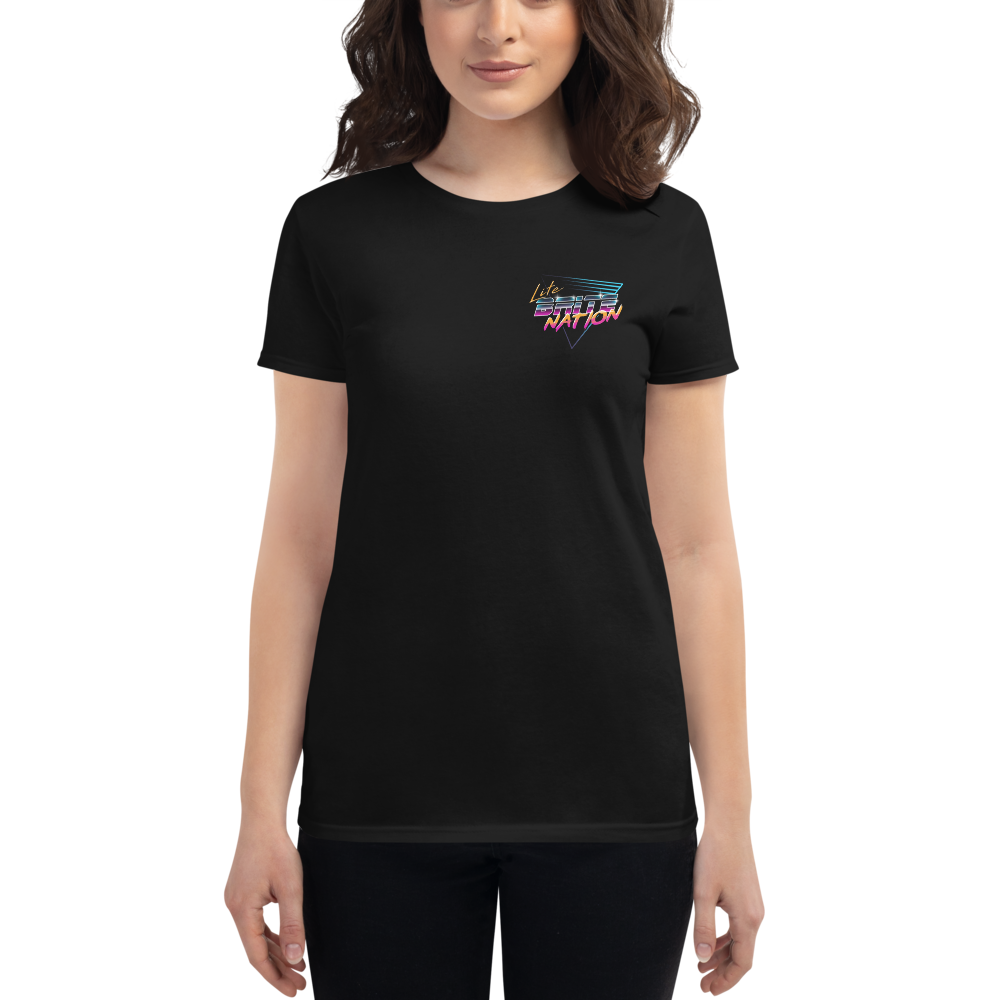 LITE BRITE NATION Women's Shirt.