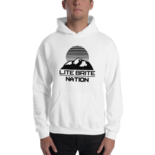 Load image into Gallery viewer, LBN Hoodie. BLK Logo.