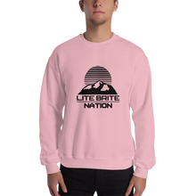 Load image into Gallery viewer, LBN Sweatshirt. BLK Logo.