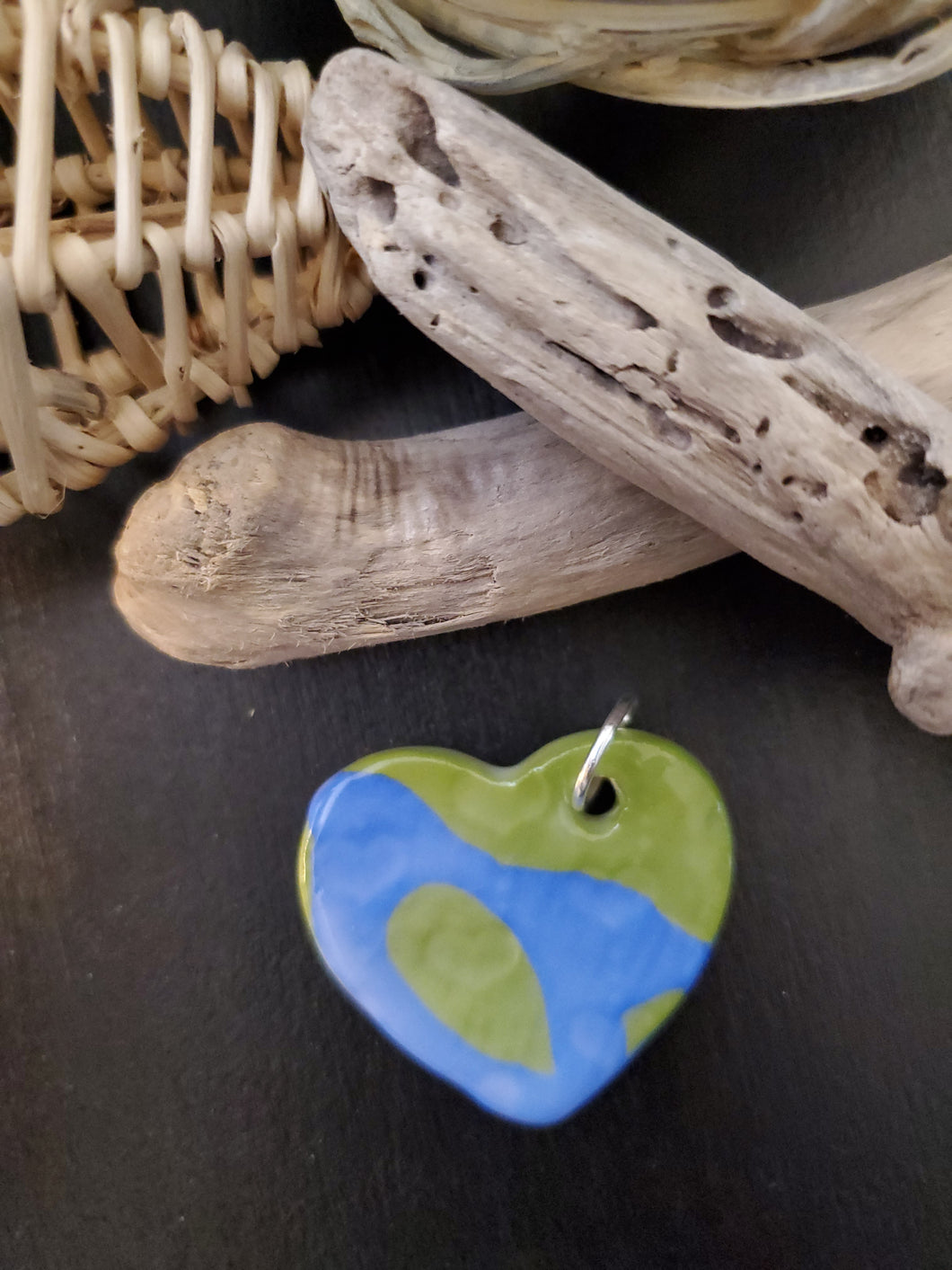 Earth Heart Pendant/Necklace