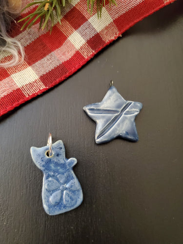 Blue Cat & Star $15 ea