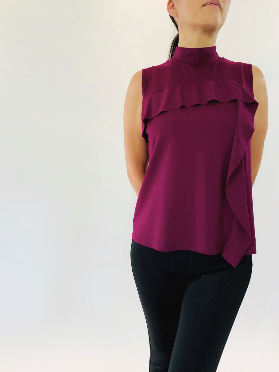 Cascade Top in Violaceous - PERIPHERY