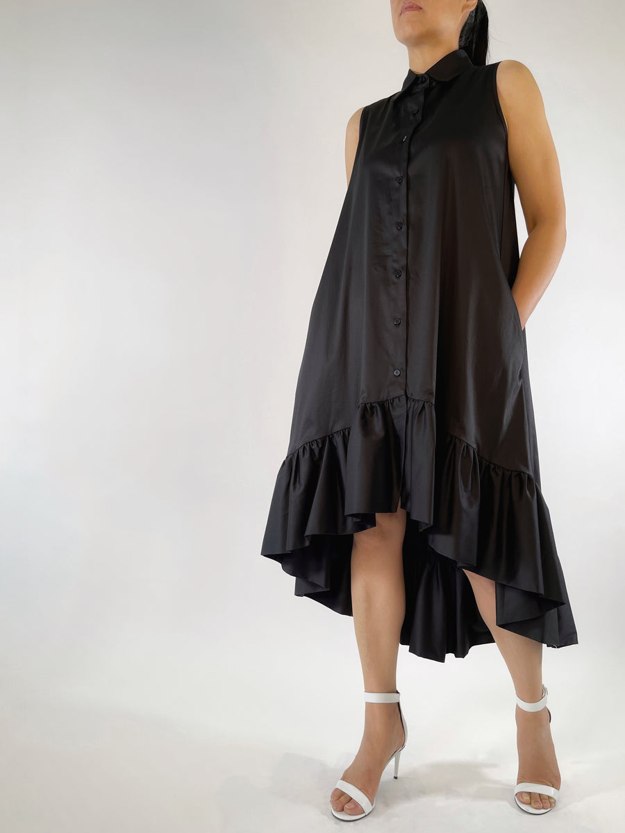 Float Hem Dress - PERIPHERY