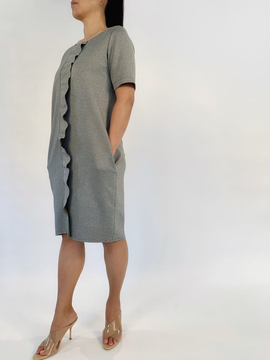 Ruffle Front Dress - PERIPHERY
