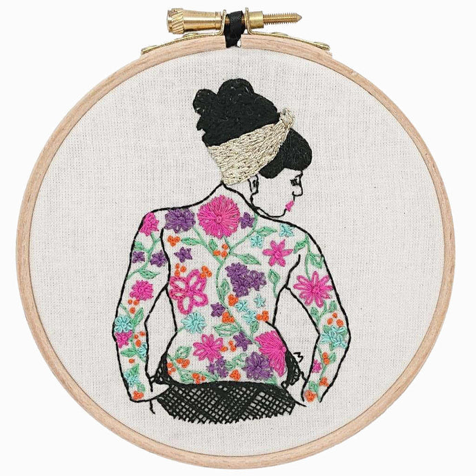 THE SPRING TATTOOED LADY SEW ALONG